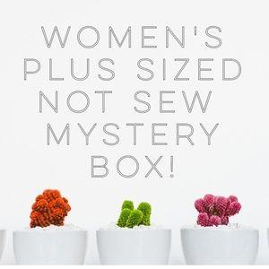 Womens plus sized mystery box read description